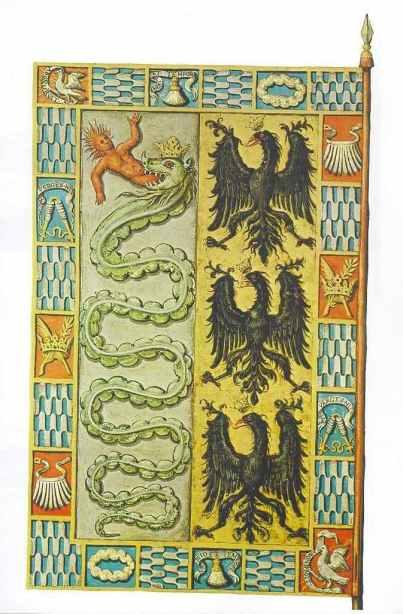 Bandiera di Massimiliano Sforza1