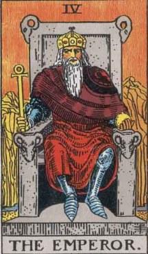 Tarot_The Emperor